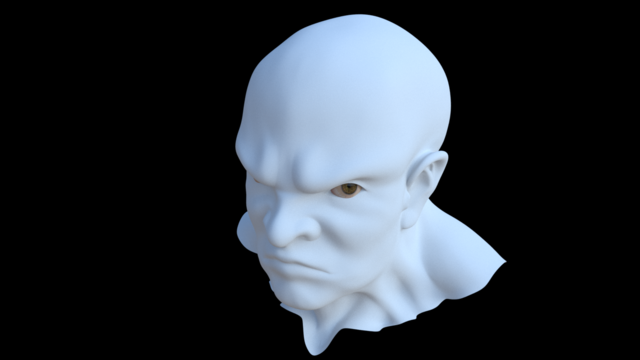 Ossan Head(no material)